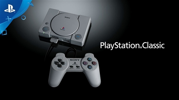 索尼发布PS Classic小型主机:预置20款初代PS游戏、100美元
