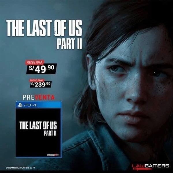 《The last of us Part 2》发售日期曝光:2019年10月份