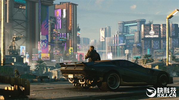 《赛博朋克2077》新图